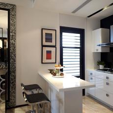 小户型厨房现代装修效果图