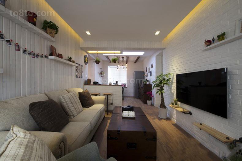 简约小户型休闲区设计效果图