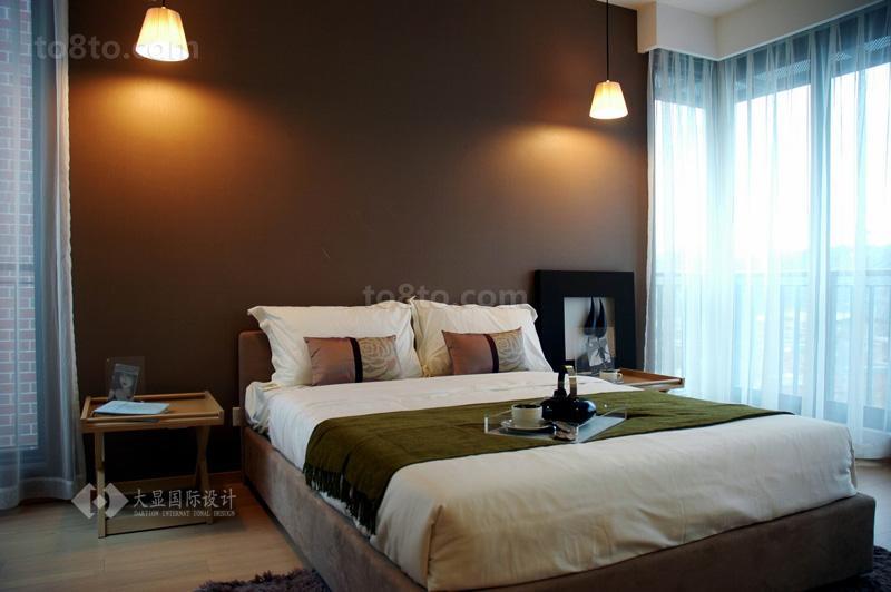 精美面积88平小户型卧室简约装修图片欣赏