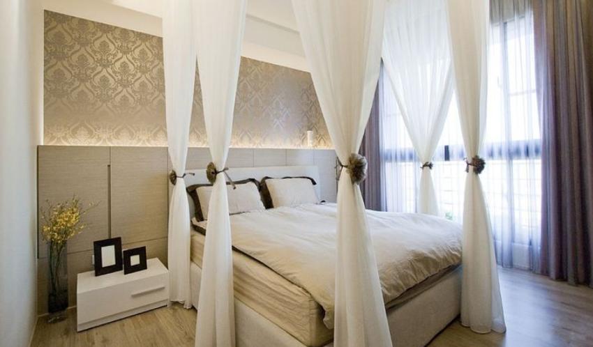 2018精选面积84平小户型卧室现代装修设计效果图片
