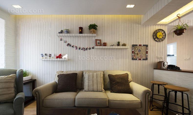 热门75平米简约小户型休闲区装饰图片欣赏