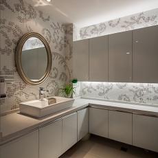面积89平小户型卫生间现代设计效果图