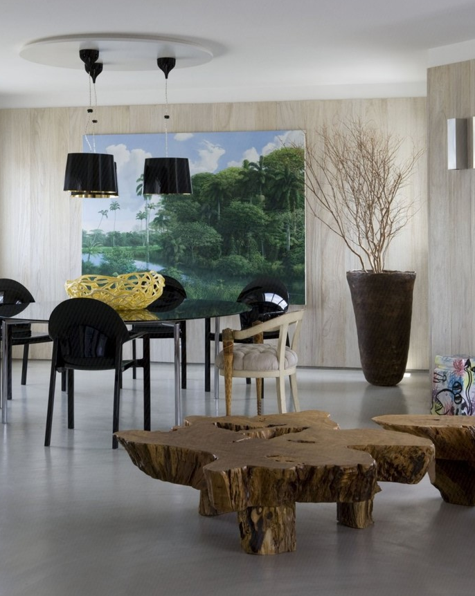 精美面积77平小户型休闲区简约装修效果图片欣赏