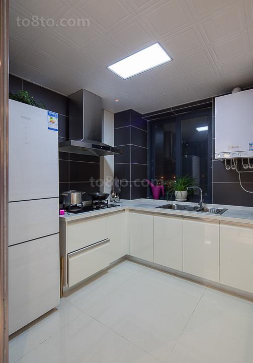 精选面积89平小户型厨房现代装修效果图片大全