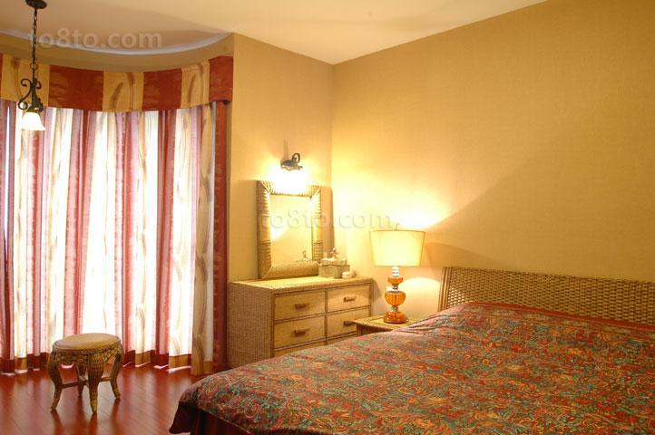 简约韩式家居卧室装修效果图片