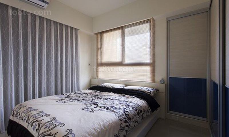 热门小户型卧室简约装修实景图
