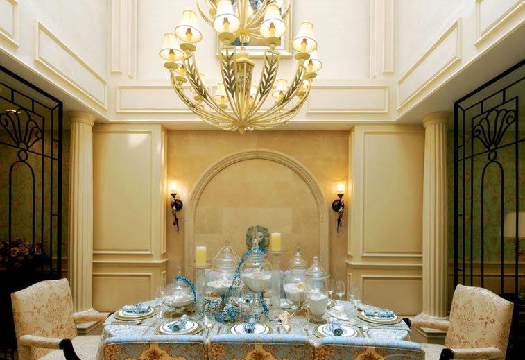 热门面积77平小户型餐厅欧式效果图片欣赏