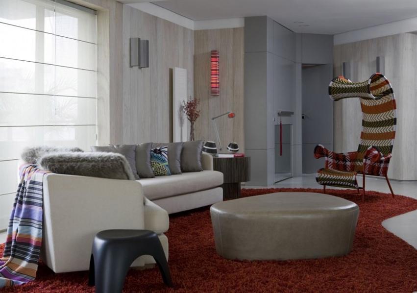 精选面积76平小户型客厅简约装修实景图片大全