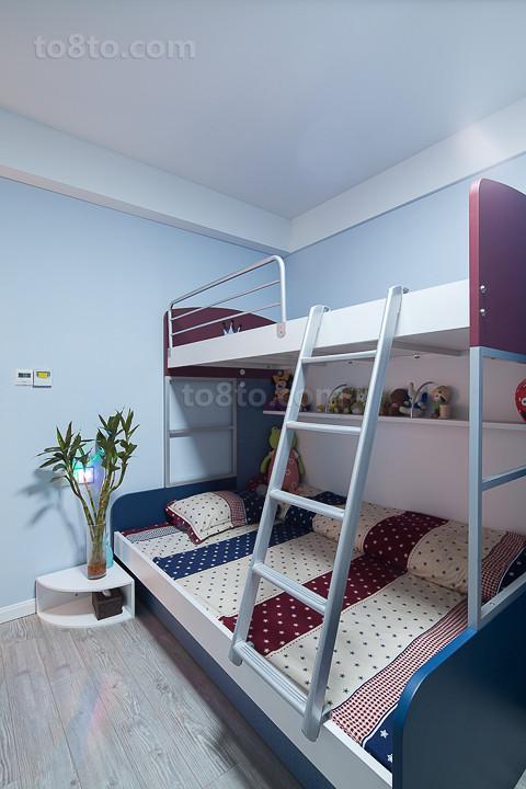 精选面积79平小户型儿童房现代装修设计效果图片欣赏