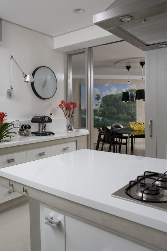 精选86平米简约小户型厨房装修设计效果图片大全