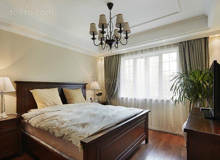 精美面积81平小户型卧室美式装修效果图片大全