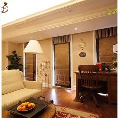 精选70平米二居客厅田园装修设计效果图