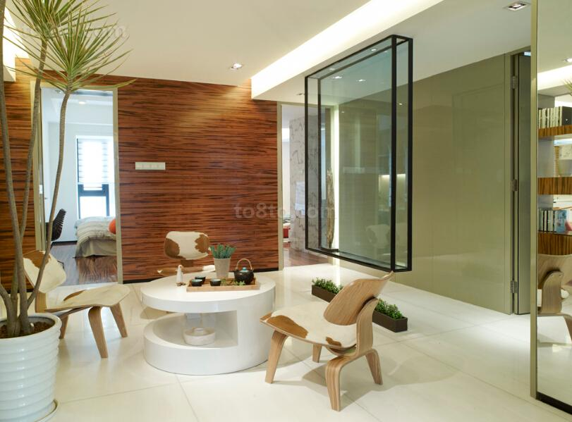 精美面积70平小户型休闲区现代装修图片