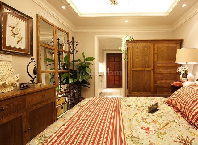精选小户型卧室田园装修设计效果图片大全