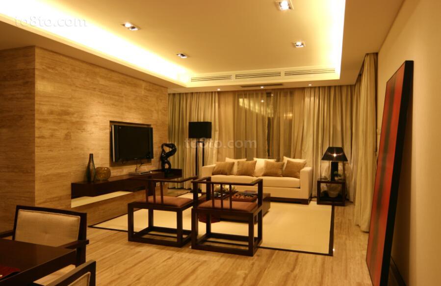 精美中式小户型客厅装修欣赏图片大全
