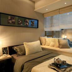 现代卧室飘窗装修效果图片大全