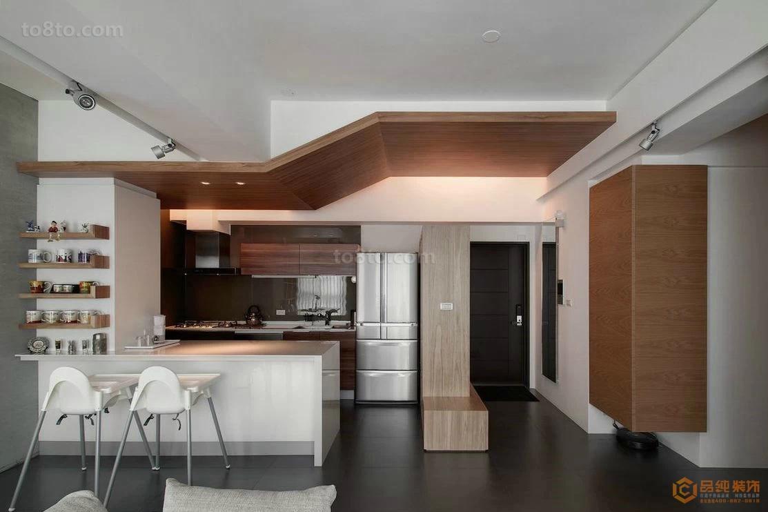 2018小户型厨房简约装修设计效果图片