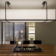 现代餐厅吊灯设计效果图