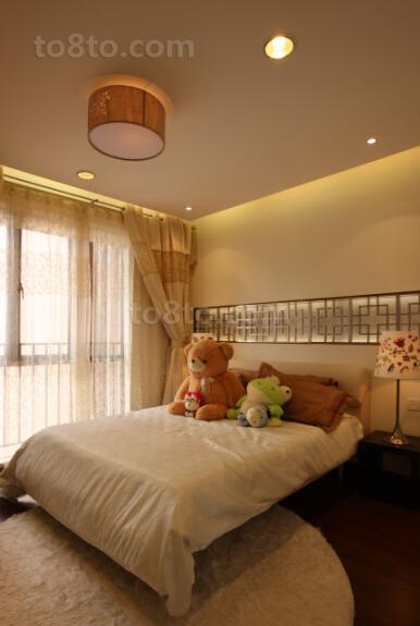 现代卧室装修效果图欣赏大全2014图片