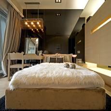 现代风格豪华卧室装修效果图片