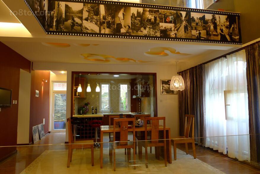 东南亚风格餐厅设计图片大全