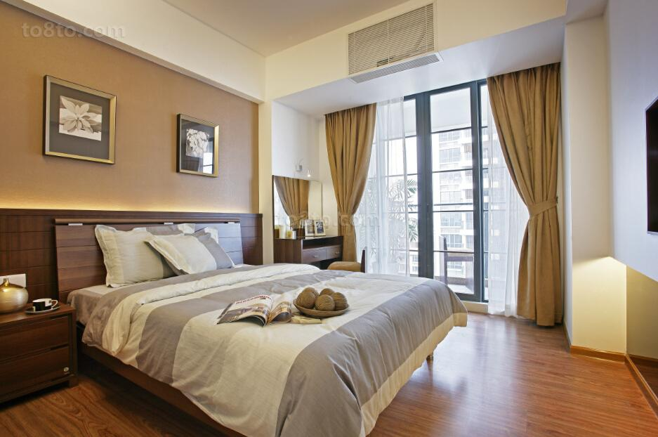精美大小118平中式四居卧室装修实景图