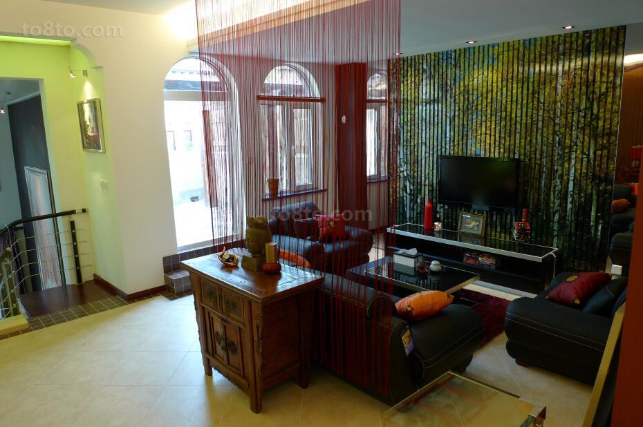 东南亚风格室内隔断装饰图片