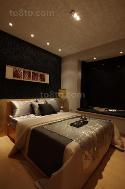 现代卧室装修风格设计效果图