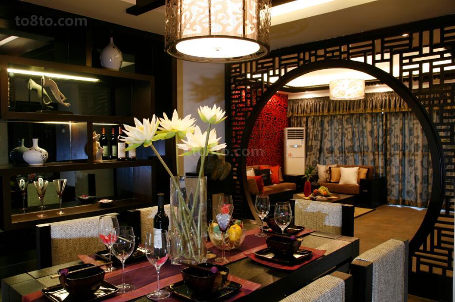 中式风格餐厅装修图大全