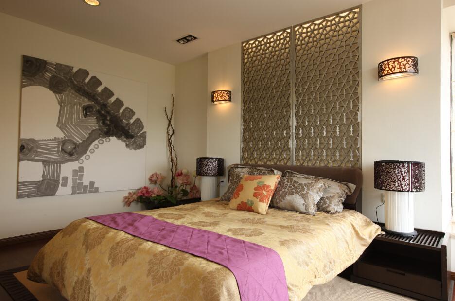中式卧室设计效果图欣赏大全