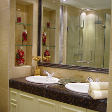 现代卫生间洗脸盆装修风格