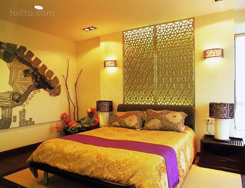 中式室内卧室设计图