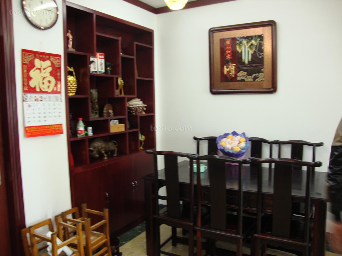 现代中式风格餐厅效果图大全
