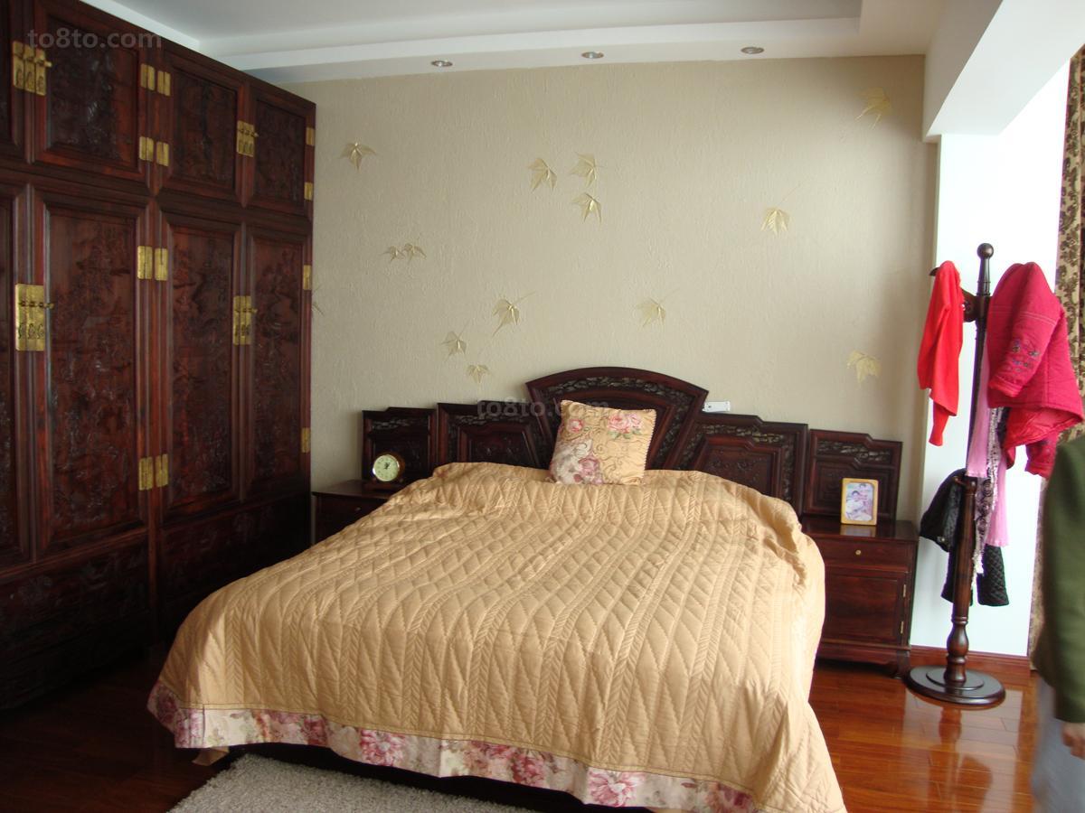 现代中式风格卧室设计图片大全