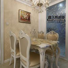 欧式风格餐厅设计图欣赏