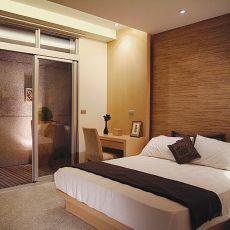 现代风格复式楼卧室装修图片欣赏
