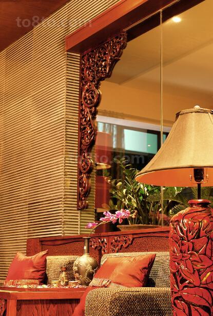 热门小户型休闲区中式欣赏图