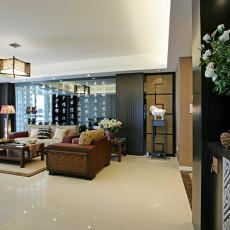 精美中式二居客厅装修图片欣赏