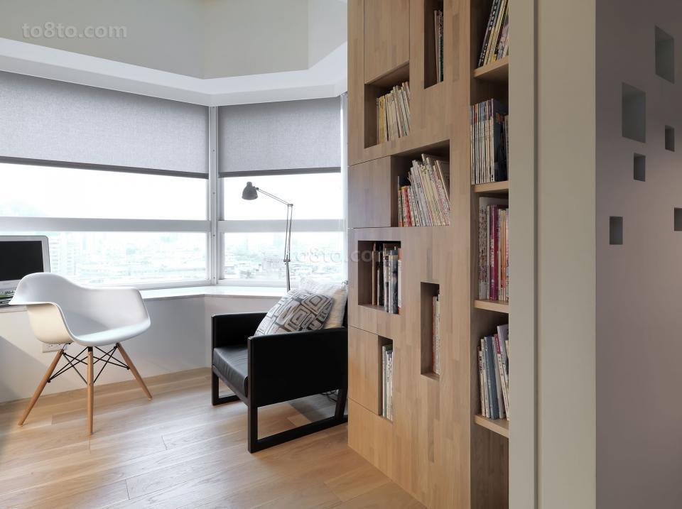2018面积72平小户型休闲区简约装修欣赏图片