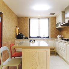 精选面积89平小户型厨房美式实景图