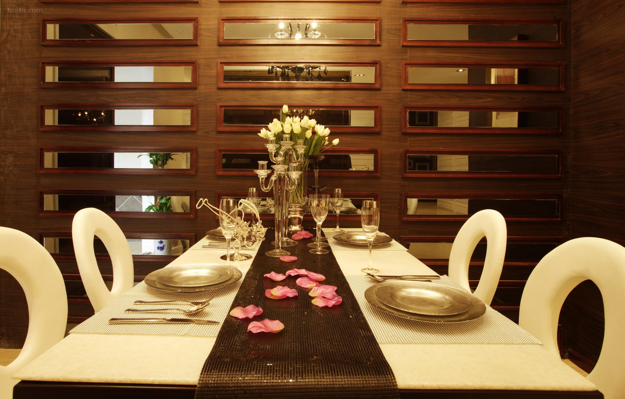 热门90平米现代小户型餐厅装修设计效果图片欣赏