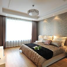 大小104平现代三居卧室设计效果图