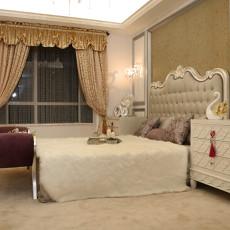 精美面积110平欧式四居卧室装饰图