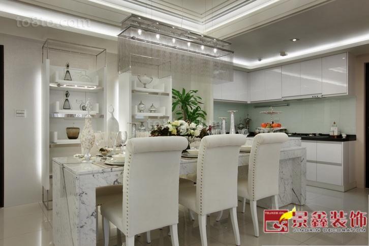 精美小户型餐厅欧式实景图