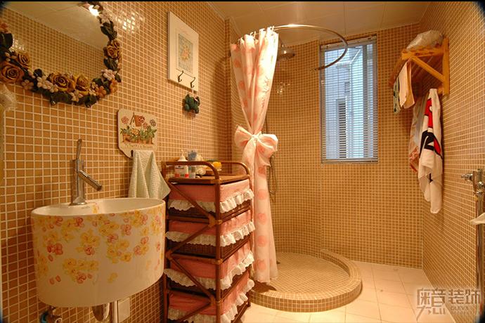 田园风格家居卫生间装修设计