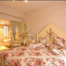 田园风格温馨卧室图片欣赏