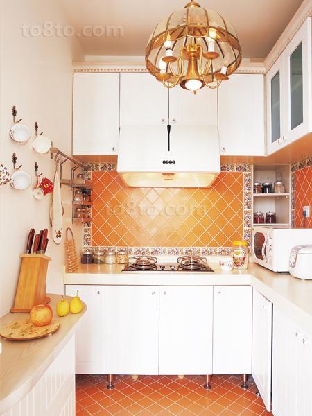 83平米田园小户型厨房装修设计效果图片大全