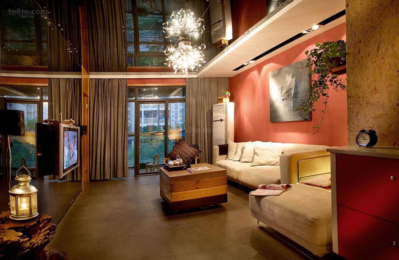 热门东南亚小户型客厅装饰图片大全