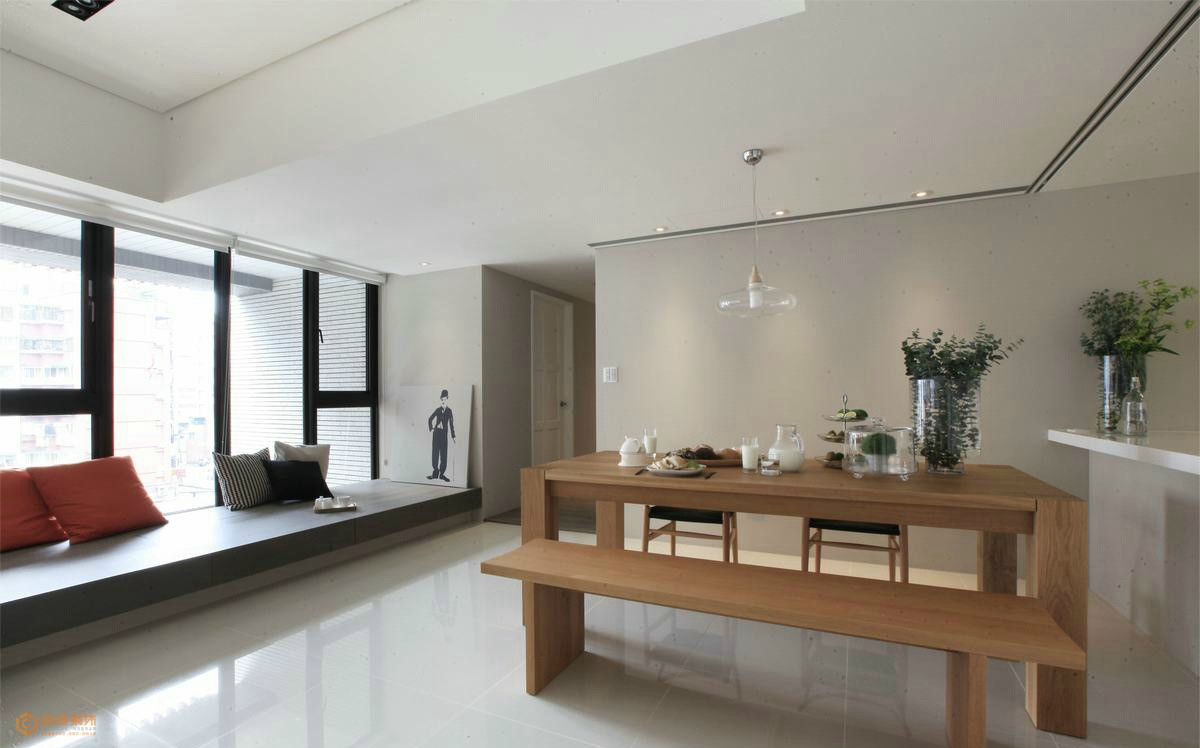 現代風格室內飄窗榻榻米裝修效果圖