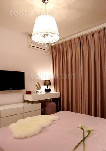 家装室内卧室电视背景墙图片